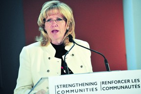 Linda Jeffrey, Minister of Municipal Affairs and Housing, will meet Thursday with a city delegation. (QMI Agency)