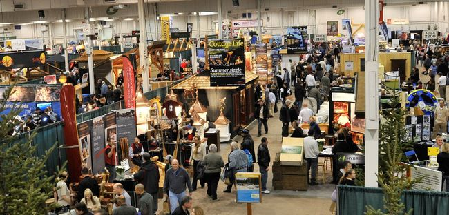 Visitors pack the Fall Cottage Life Show with more than 200 exhibitors. (Handout)