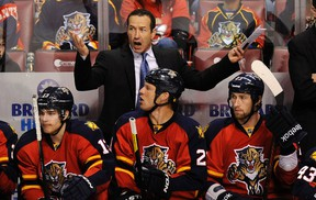 The Florida Panthers fired head coach Kevin Dineen, above, and assistant coaches Gord Murphy and Craig Ramsay. (Reuters)