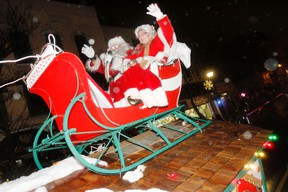 A picture from Belleville's Santa Claus Parade in 2012.