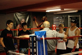 Young boxers prepare for last year's provincial bouts at the Boxing Club of Spruce Grove. - File Photo
