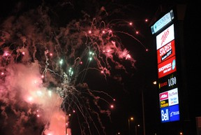This year's New Year's Eve Celebration at the Rotary Clock Tower on Broadway, 10 p.m. to 12:30 a.m., will include fireworks. CHRIS ABBOTT/FILE PHOTO