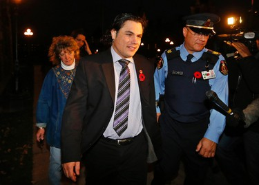 """Patrick Brazeau He was suspended from the Senate and now he's trying to play reporter. The Parliamentary Press Gallery denied Brazeau credentials this week, despite his freelance reporting gig for Frank Magazine.  """"I wanted to write about the news,"""" @thebrazman tweeted. """"Not make the news to be denied being able to write about it. #cdnpoli"""" Clearly, the man has a way with words. (REUTERS/Chris Wattie)"""
