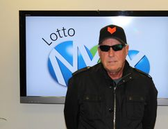 Lotto Max winner Tom Crist has one the biggest lottery jackpot in Calgary history with a $40 million purse. He plans to give all of it to charity. Photo courtesy Western Canadian Lottery Corporation
