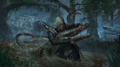 """<p><strong><a target=""""_blank"""" href=""""/2013/10/31/ac-iv-full-of-seafaring-fun"""">Assassin's Creed IV: Black Flag</a> (various)</strong></p> <p>There are still some niggling problems with the Assassin's Creed formula, but this latest outing takes to the high seas, enhancing the stealthy action with swashbuckling pirate-flavoured adventure.</p> <p><center><iframe height=""""315"""" frameborder=""""0"""" width=""""560"""" src=""""//www.youtube.com/embed/9kU5Sp9d3LM"""" allowfullscreen=""""""""></iframe><br /> </center> </p>"""