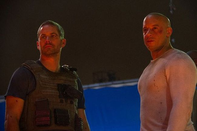 Vin Diesel shared a photo from the last scene he and Paul Walker shot together. (Facebook)
