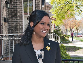 Rathika Sitsabaiesan, the MP for Scarborough-Rouge River. (BRIAN THOMPSON/QMI Agency)