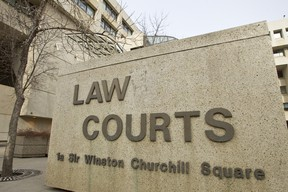 The Law Courts are seen in Edmonton, Alta. Ian Kucerak/Edmonton Sun/QMI Agency