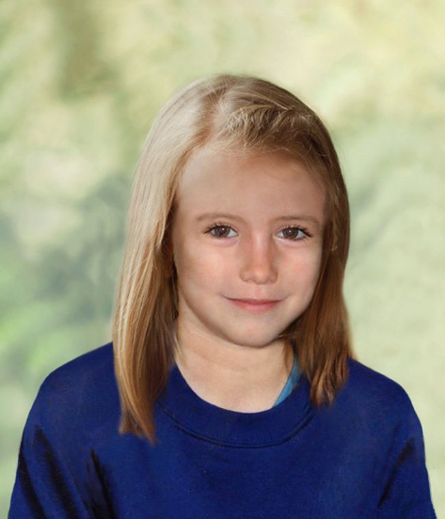 Madeleine McCann is seen how she may have looked as her ninth birthday approached, in this computer-generated handout file photograph released in London on April 25, 2012. (REUTERS/Metropolitan Police/Handout/Files)