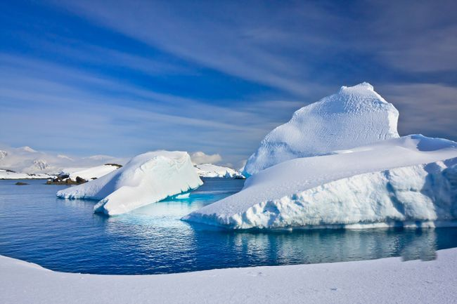 Temperatures dip so low in <b>Antarctica</b> that the icy continent is uninhabitable, save a few brave scientists. Temperatures have reached a low of -73.2 C at the Plateau Station and a low of -89.2 C at the Vostok Station. (Fotolia)