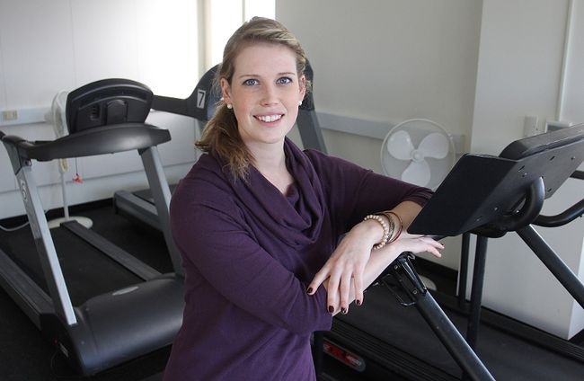 Behavioural interventionist Stephanie Corras will be helping run a new study by Queen's University's Lifestyle and Cardiometabolic Research Unit in which people will be helped to lose weight gradually so they can maintain the loss over the long term. 