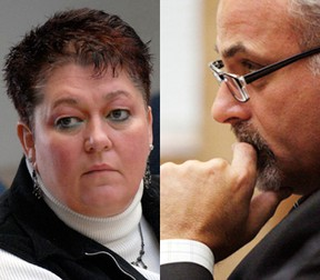 Councillors Jackie Denyes and Taso Christopher, representing constituents in the northern quadrant of the city, said they have not been approached by potential suitors and have yet to decide if they will seek votes come October.  Intelligencer file photos.