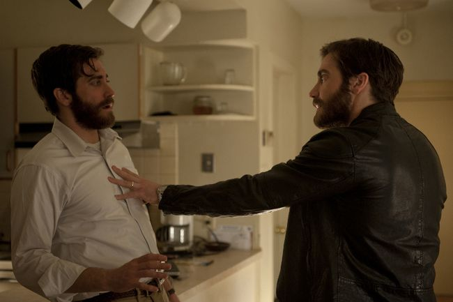 Jake Gyllenhaal stars alongside himself in Denis Villeneuve's Enemy. (Handout)