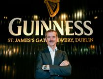 Canadian Astronaut Chris Hadfield at the Guinness Storehouse in Dublin as he continues his travels around Ireland. (Courtesy Tourism Ireland)