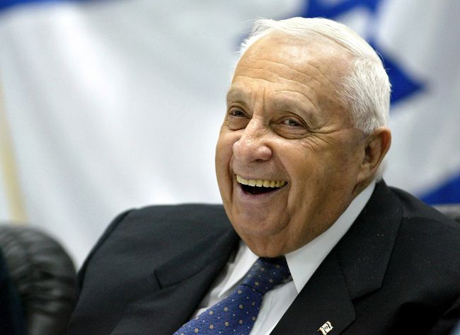 A selection of photos of former Israeli general and prime minister Ariel Sharon, who died on Saturday at the age of 85.