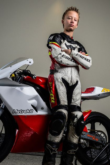Teen Motorcycle Road Racer Gearing Up To Be First Canadian