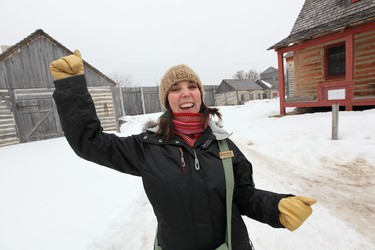 Festival du Voyageur Executive Director Ginette Lavack Walters poses for a photo at the Festival du Voyageur Park Thursday, February 17. 2011. The festival starts Friday, February 18, 2011. MARCEL CRETAIN / QMI Agency