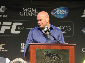 UFC boss Dana White (QMI Agency)