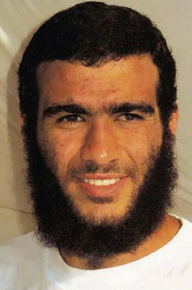 Omar Khadr in a 2009 file photo. (Red Cross Photo/HO)