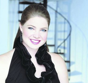 Soprano Karine White, who performs Sunday at Centennial Hall, planted seeds for her career as a student in London. (special to QMI Agency)