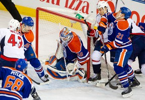 The OIlers defence is a combination of young newcomers and veterans who aren't capable of picking up the slack. (Edmonton Sun)