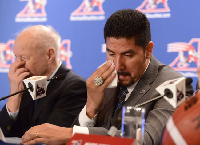 Montreal Alouettes QB Anthony Calvillo announced his retirement from the CFL on Tuesday. (QMI Agency)