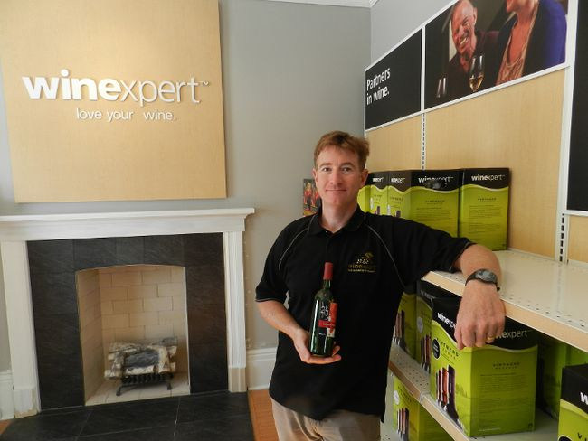 Chris Blackmore, owner of the Wine Expert store on Piccadilly Street, has recently completed a major renovation of the heritage home that houses the business HANK DANISZEWSKI / THE LONDON FREE PRESS / QMI AGENCY