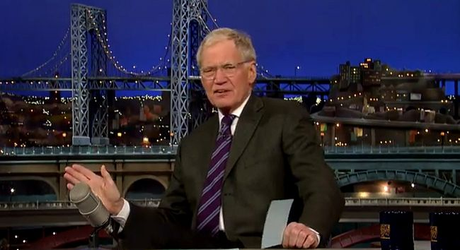 Mayor Rob Ford once again made the Top 10 on The Late Show with David Letterman.