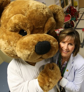Nurse Dale Dalgleish was one of seven individuals and one organization inducted into the Order of the Good bear, which was established to honour those who have made significant contributions to the CHEO Foundation. DOUG HEMPSTEAD/Ottawa Sun