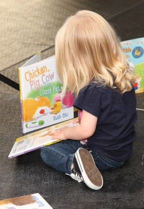 Monday, Jan. 27, is Family Literacy Day, when families are encouraged to spend 15 minutes reading together or doing some kind of learning activity. (Bernard Clark/Kingston WritersFest)