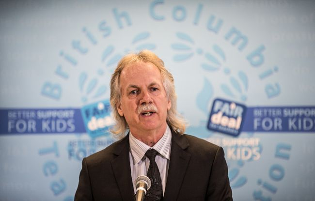 "Court finds Education Ministry was focused on gaining political support and enacted legislation already previously deemed illegal by the judiciary. B.C. Teachers Federation president Jim Iker called Monday's decision a ""victory"" for the education system. (CARMINE MARINELLI/ 24 HOURS)"