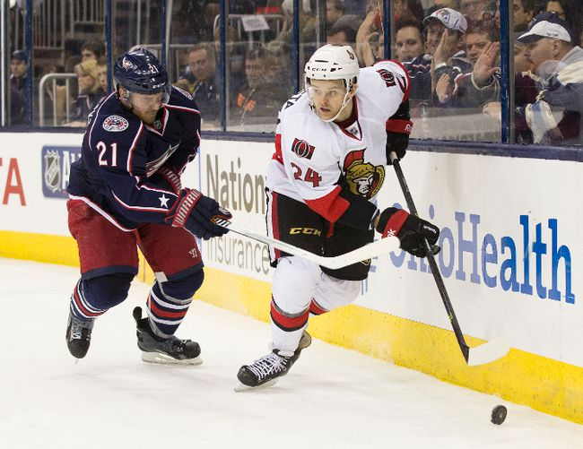 NHL: Ottawa Senators at Columbus Blue Jackets