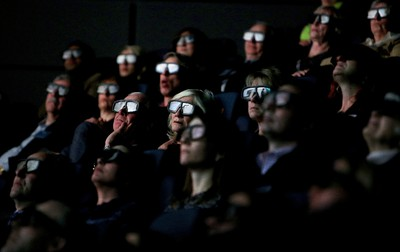 Visitors watch Jerusalem in IMAX 3D at Telus World of Science in Edmonton on February 4, 2014. (DAVID BLOOM/QMI Agency)
