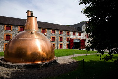 Stick around to the end of the Jameson Distillery tour for a taste of the good stuff. The original distillery in Midleton, Ireland, no longer produces its famous whiskey, but is well-aged in history. FAILTE IRELAND PHOTO