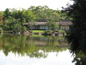 The serene and green Morikami Museum and Japanese Gardens in Delray Beach, Fla., ROBIN ROBINSON/QMI AGENCY FILES