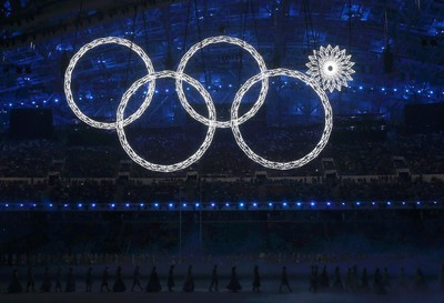 WORST - Someone's getting fired, or worse  Five giant snowflakes were meant to open up into the five Olympic rings, but one malfunctioned. Shades of the Vancouver cauldron! (REUTERS/Phil Noble)