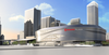 Edmonton's downtown arena, view from the north. (SUPPLIED)