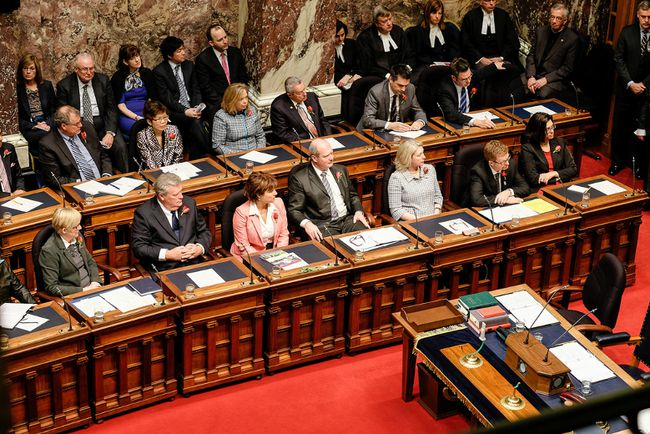 This session of the B.C. legislature promises sparring over jobs and poverty. (PHOTO BC GOVERNMENT)