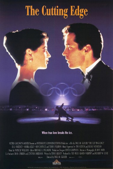 5. THE CUTTING EDGE (1992)Is this where CBC got the idea for Battle of the Blades? D.B. Sweeney plays a rough-edged hockey player who becomes the partner of prima donna figure skater Moira Kelly after they both wash out in Calgary. He teaches her to take chances and inject dangerous moves into their Olympic program. Yeah, it could happen.