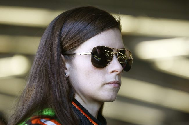 Danica Patrick is looking to bounce back - and silence her critics - this NASCAR season. (REUTERS/PHOTO)