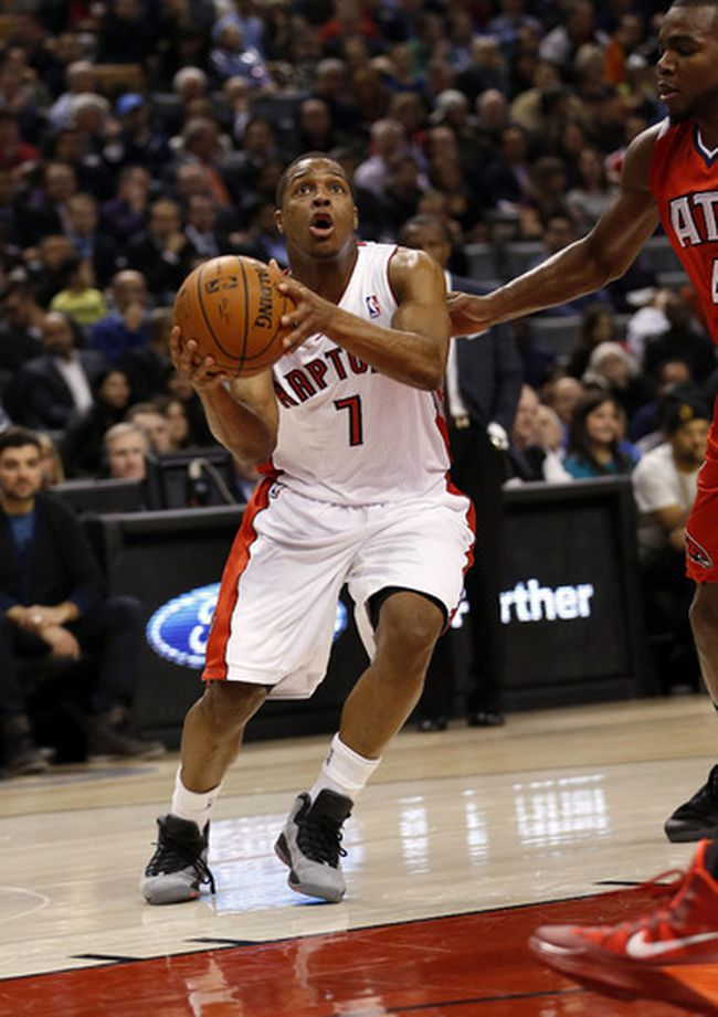 Kyle Lowry of the Toronto Raptors. (MICHAEL PEAKE/Toronto Sun)