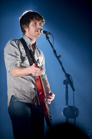 Vincent Vallieres performs at Metropolis in Montreal on February 13, 2014. (QMI AGENCY/Jean Langevin)