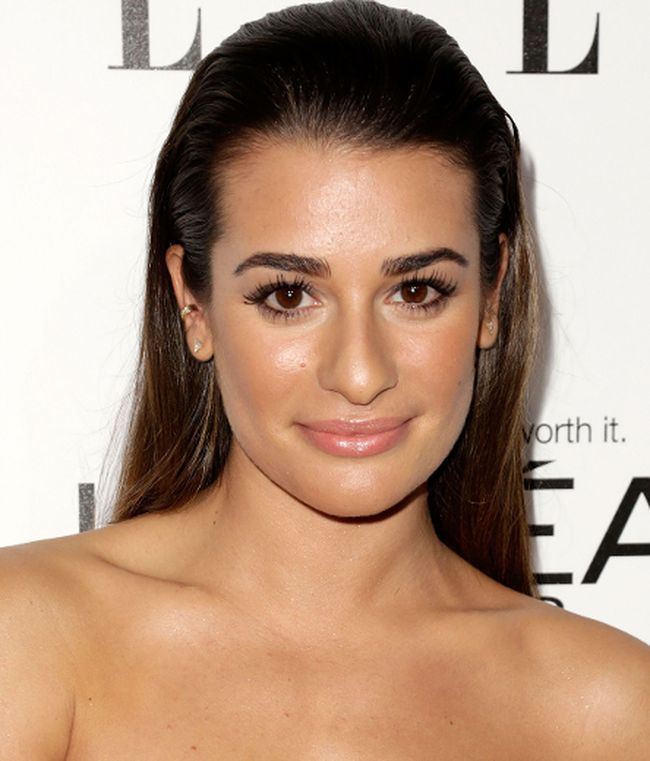 Lea Michele at the ELLE 20th annual Women in Hollywood celebration. (Brian To/WENN.com)