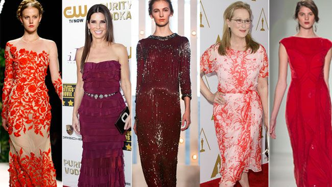 Oscars red carpet dress predictions rate the looks fashion life
