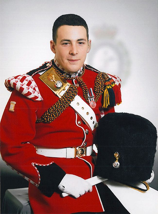 Drummer Lee Rigby, of the British Army's 2nd Battalion The Royal Regiment of Fusiliers, is seen in an undated photo released May 23, 2013. Rigby was killed May 22 in an attack by two men in Woolwich, southeast London. (REUTERS/Ministry of Defence/Crown Copyright/Handout)