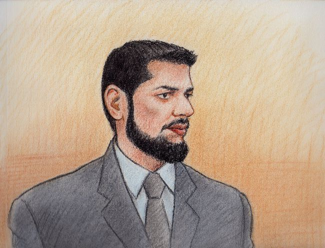 Nearly four years after Mounties scooped up a handful of alleged homegrown terrorists, a London, Ont. doctor became the first to go to trial Monday. Khurram Syed Sher, 31, pleaded not guilty to the charges on Monday, Feb. 10, 2014. (Laurie Foster-McLeod, QMI Agency)