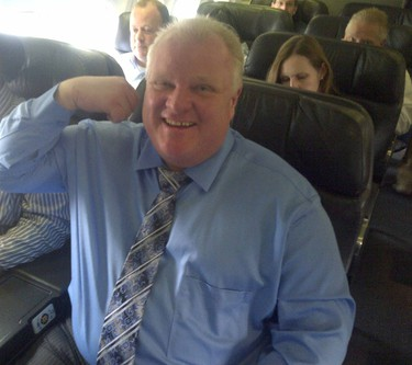 Mayor Rob Ford is on his way to the Oscars on March 1, 2014 for Sunday's telecast. He will also appear on Jimmy Kimmel Live.