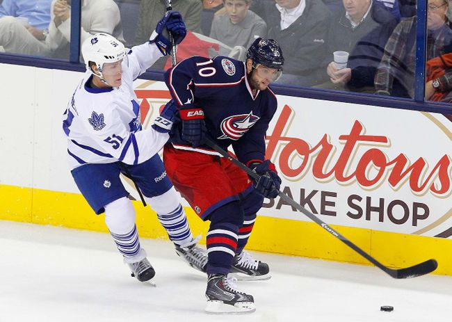 <p>MARCH 5: Columbus Blue Jackets trade forward Marian Gaborik to the Los Angeles Kings for forward Matt Frattin, a second-round pick and a conditional third-round pick.</p>