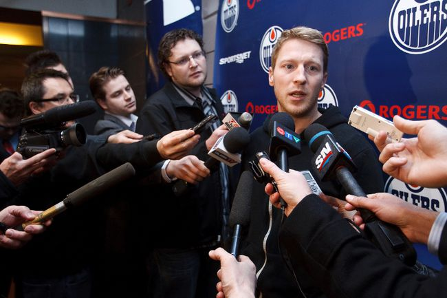 Hemsky traded for draft picks