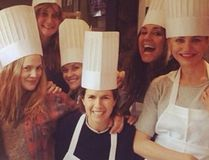 Drew Barrymore and Reese Witherspoon went on an all-girls' trip to a culinary school in Napa. (Instagram/Reese Witherspoon).